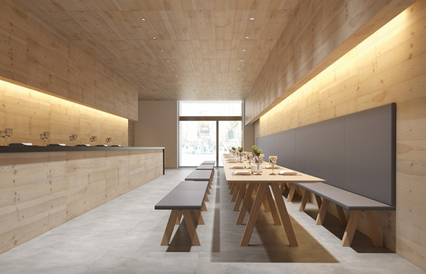 John Pawson's Trestle collection for Viccarbe