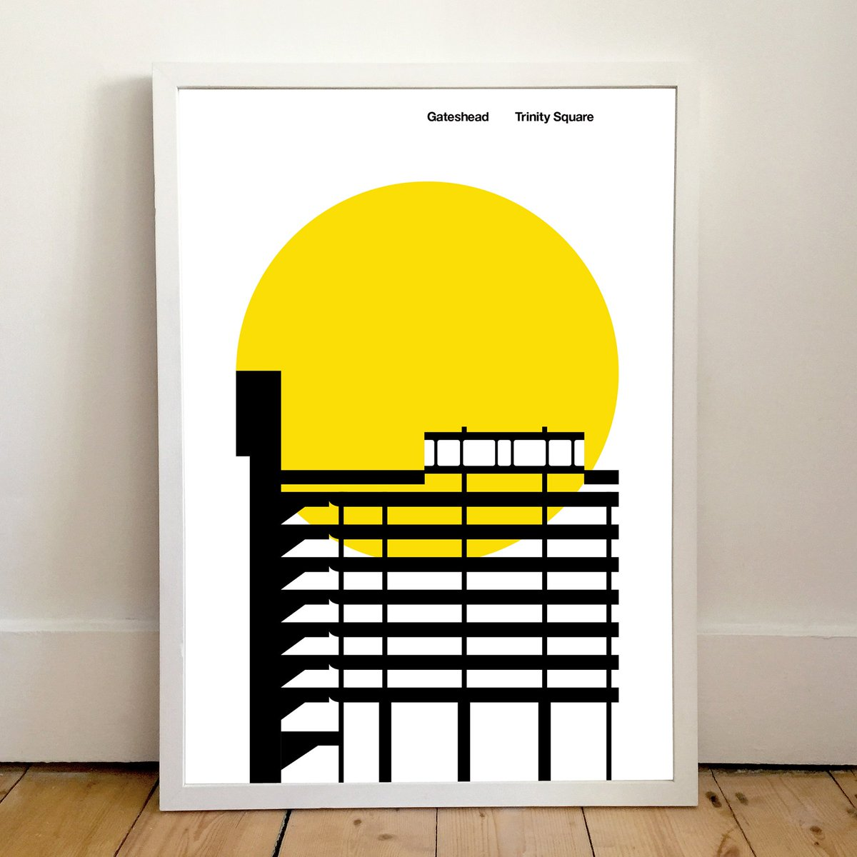 Peter Chadwick's Trinity Square poster