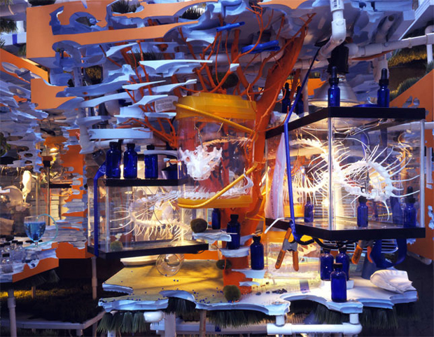 The Triple Point of Water (2003) by Sarah Sze