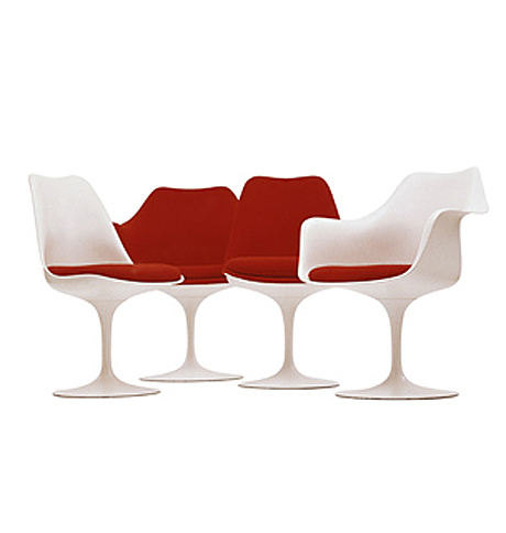 Saarinen's 1956 Tulip chairs