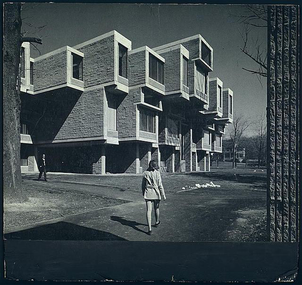 Paul Rudolph's Orange Country Government Center in happier days