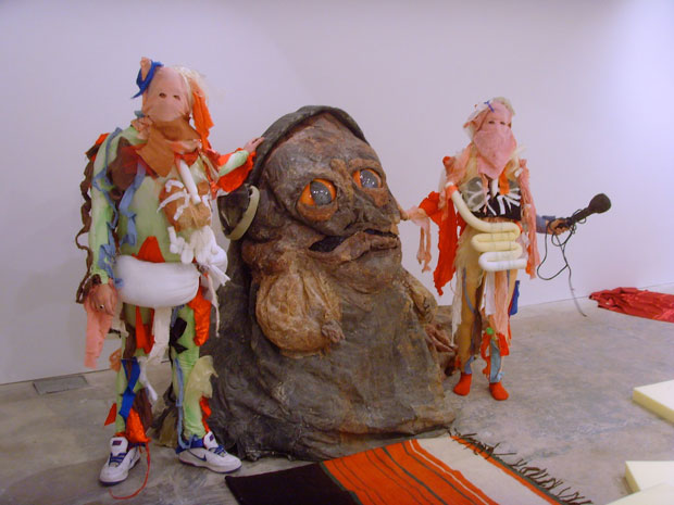 Spartacus Chetwynd, 'Jabba The Hutt Reads Rabelaise' (2008)