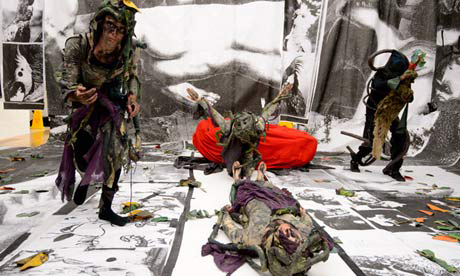 Spartacus Chetwynd, Turner Prize 2012, Tate Britain