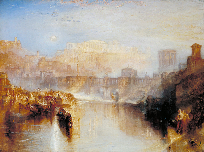 Ancient Rome; Agrippina Landing with the Ashes of Germanicus ( 1839) by JMW Turner