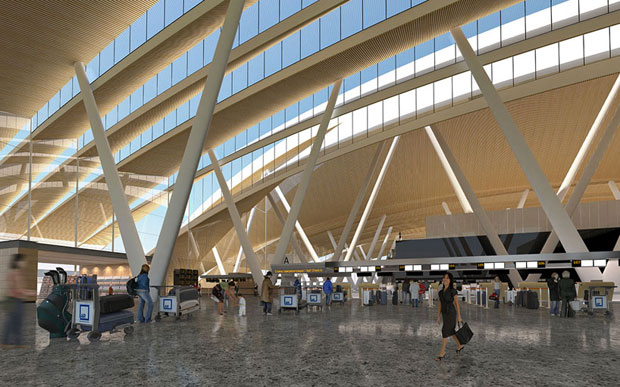 Rostov on Don Airport, Russia - Twelve Architects