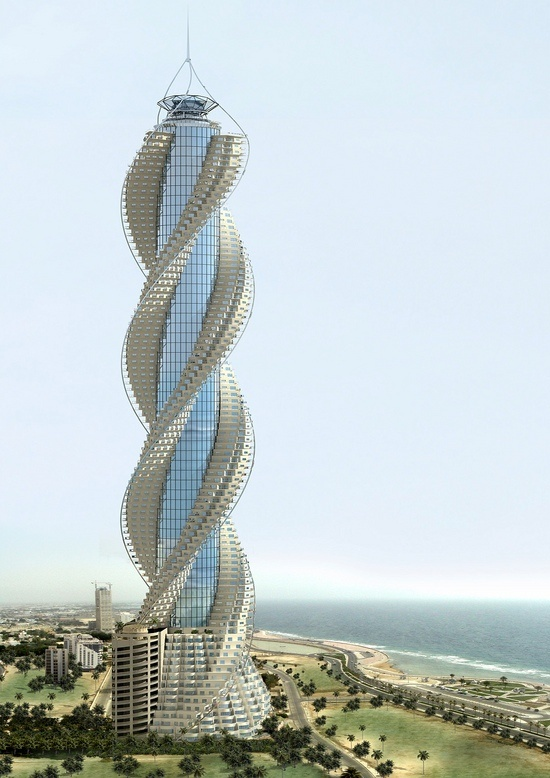 What S Behind The Trend For Twisting Skyscrapers