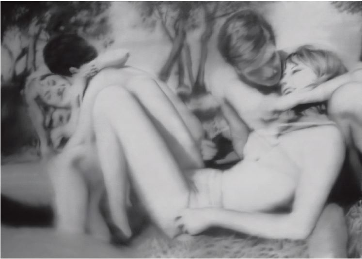 Who knew Gerhard Richter did erotica?