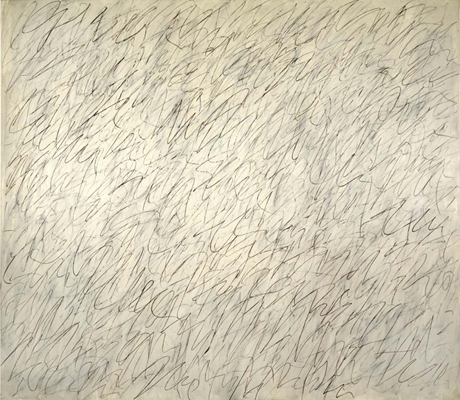 Cy Twombly, Nini's Painting (1971)
