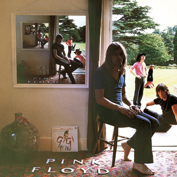 The cover of Ummagumma, 1969, by Pink Floyd. Image courtesy of the V&A.  © Pink Floyd Music Ltd