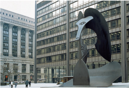 Untitled (1967) Daley Plaza, Chicago, USA