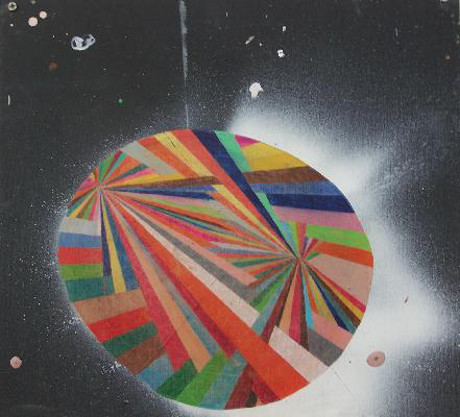 untitled (circle color burst) (2008) by Alicia McCarthy