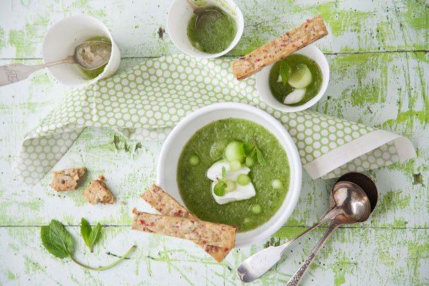 Try these chilled soups