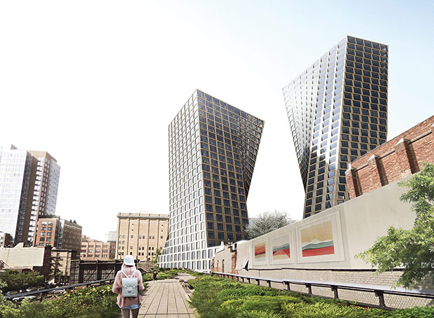 Big 39 s new twist on the high line architecture agenda for Big architecte