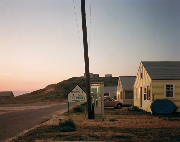 Roseville Cottages, Truro, Massachusetts (1976) by Joel Meyerowitz, from Taking My Time