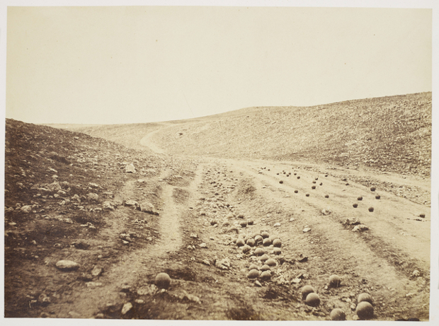 Roger Fenton Valley of the Shadow of Death (1855) as featured in The Photography Book
