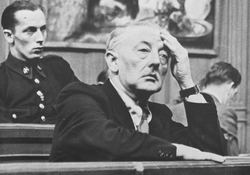 Van Meegeren at his trial in 1947