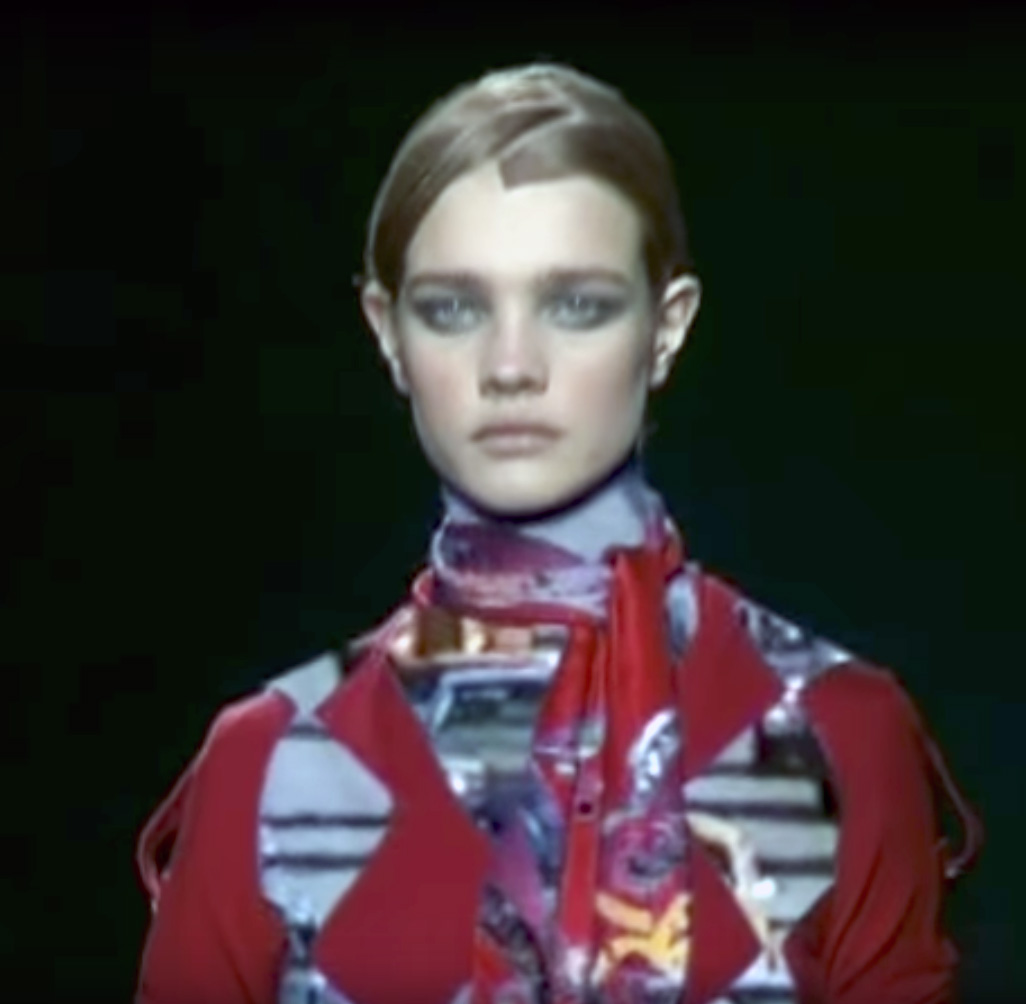 Viktor&Rolf's Autumn/Winter 2002 show, Paris. As featured in Betak Fashion Show Revolution