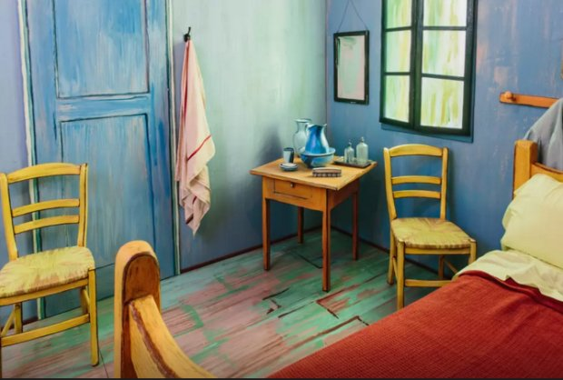 Rent Van Gogh's bedroom in Chicago for $10
