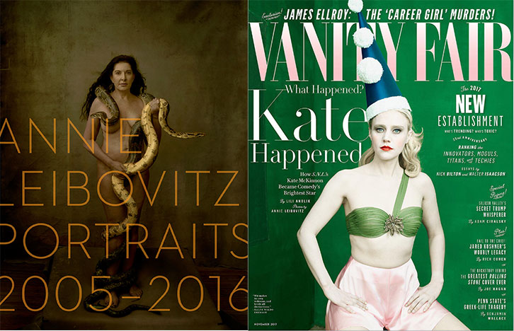 Annie Leibovitz and a Vanity Fair subscription – a gift for glamour lovers