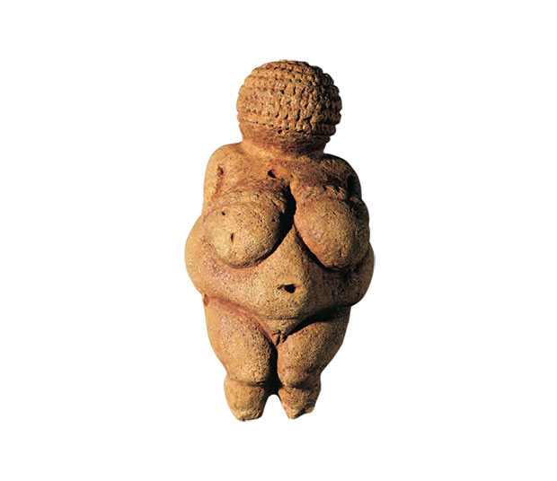 The Venus of Willendorf (22,000 – 24,000 BC). As reproduced in Body of Art