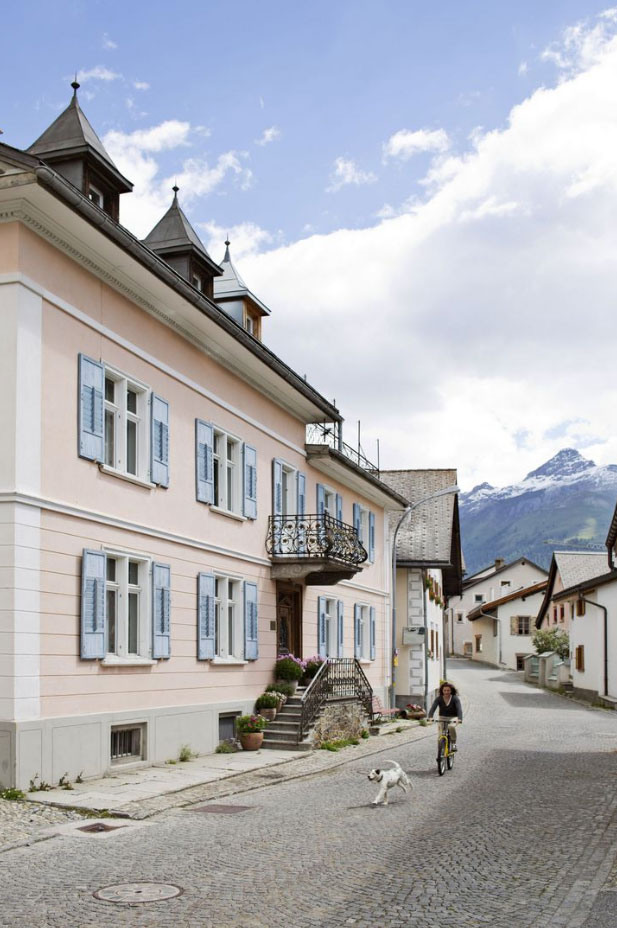 Villa Flor, S-Chanf, Switzerland