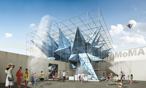 HWKN (HollwichKushner) winner of the 2012 Young Architects Program (YAP) at MoMA PS1 in NY