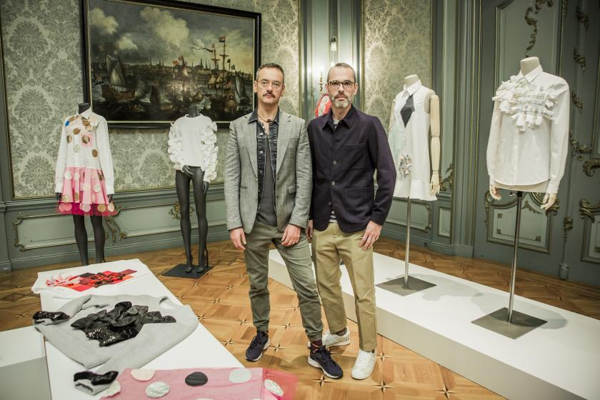 Viktor&Rolf with their new Zalando collection
