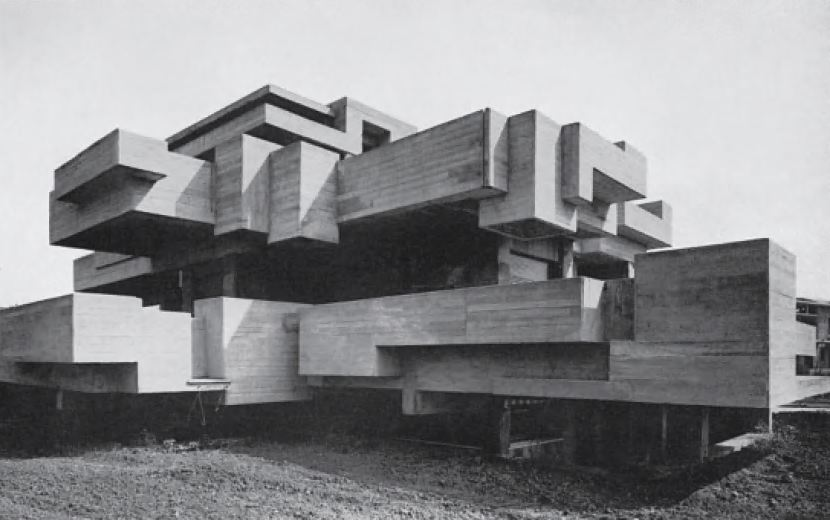 Villa Ronconi, Rome, Italy, 1973, by Saverio Busiri Vici