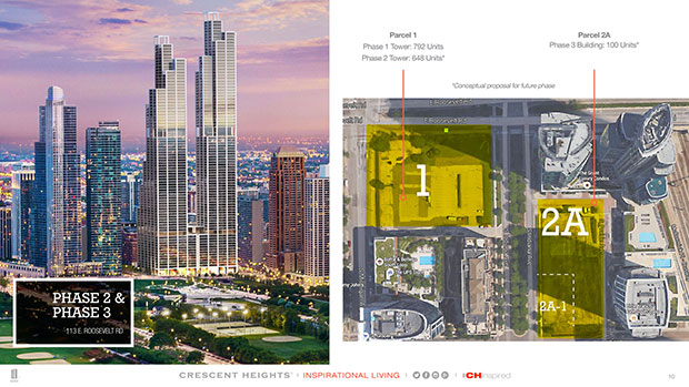 Crescent Heights, Chicago - Rafael Viñoly