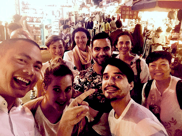 Virgilio and André Chiang hit the night market