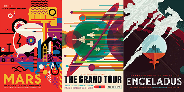 Nasa S Visions Of The Future Posters