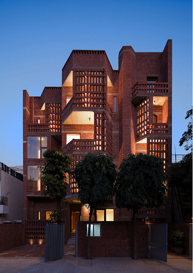 Defence Colony Residence - Vir.mueller Architects