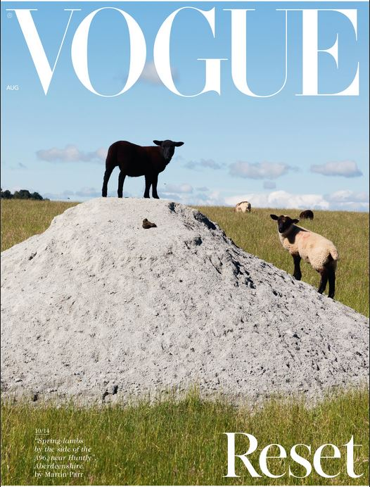 Have you seen Martin Parr's new Vogue cover?