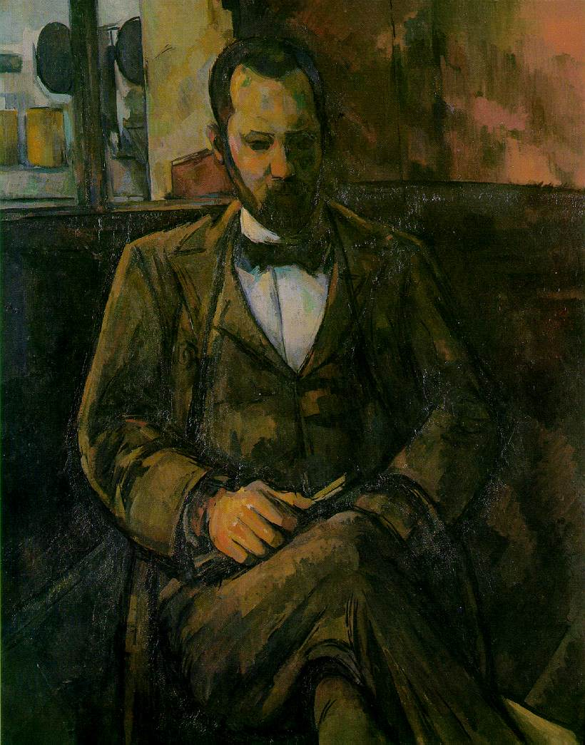 Portrait of Ambroise Vollard (1899) Paul Cézanne