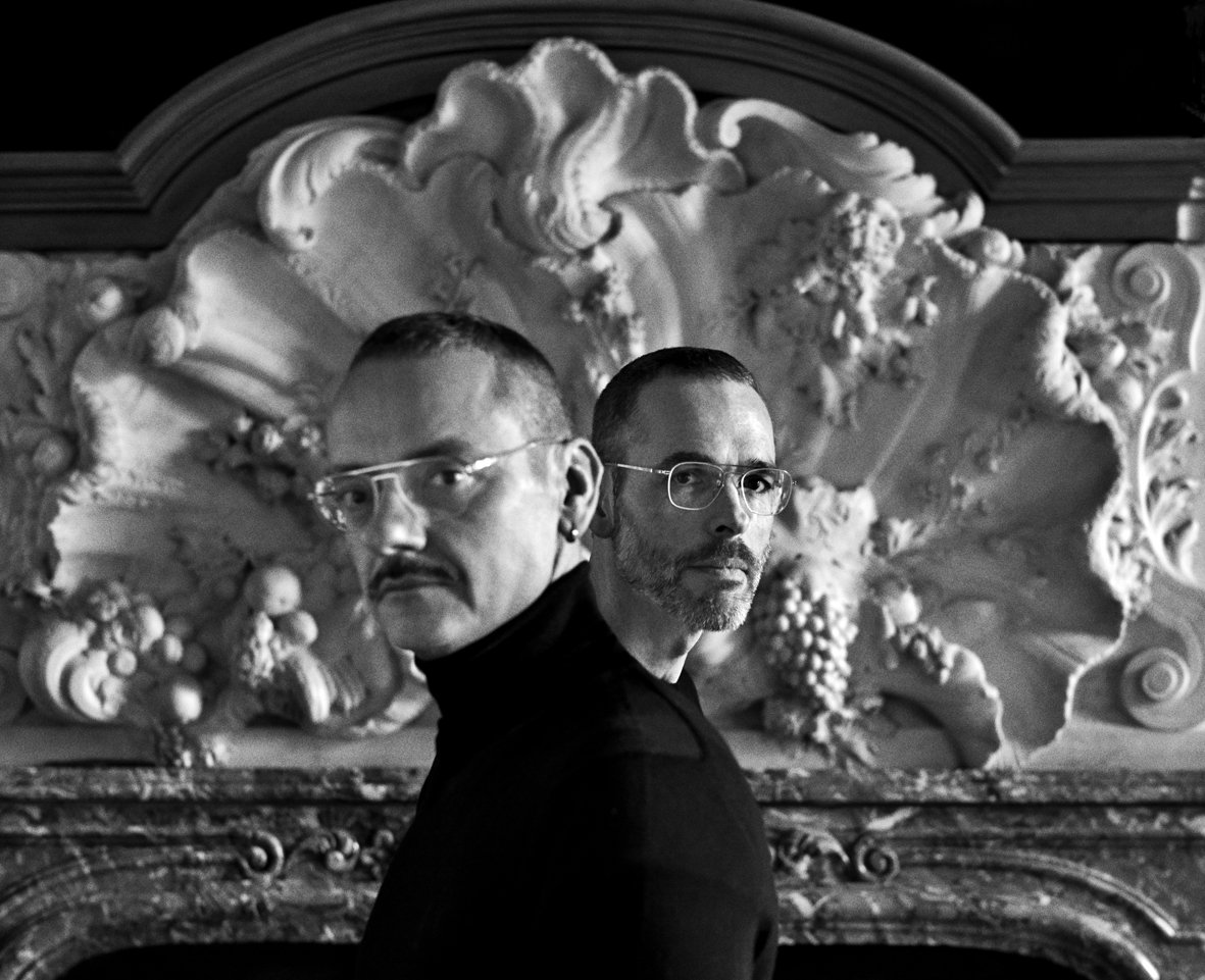 Viktor&Rolf by Anton Corbijn Amsterdam, 2018 Photo © Anton Corbijn