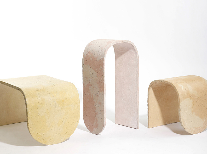 Concrete Stools by J. Byron-H. All photographs by Samuel McGuire, courtesy of byron-h.com