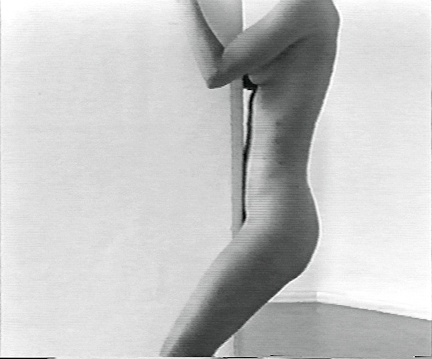 Still from Plastered (1998) by Monica Bonvicini