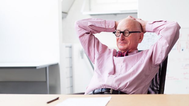 British branding consultant Wally Olins