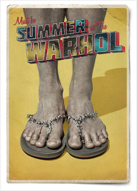 MARC USA's summer campaign for The Warhol Museum