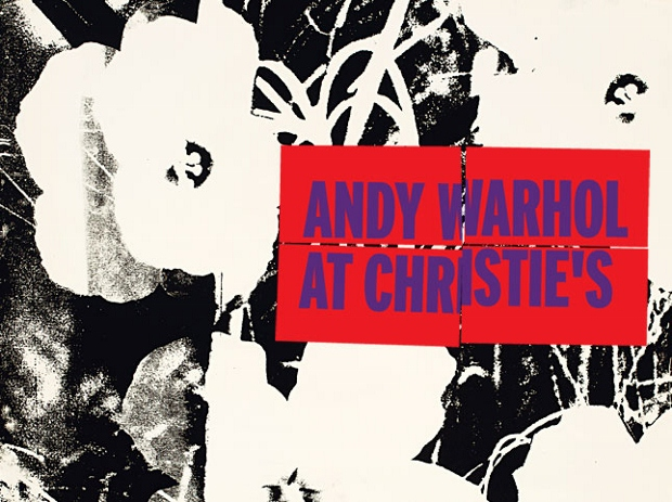 Warhol at Christie's takes place Monday 12 November
