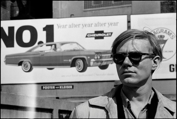 David McCabe, Andy in a street of New York City (spring 1965)