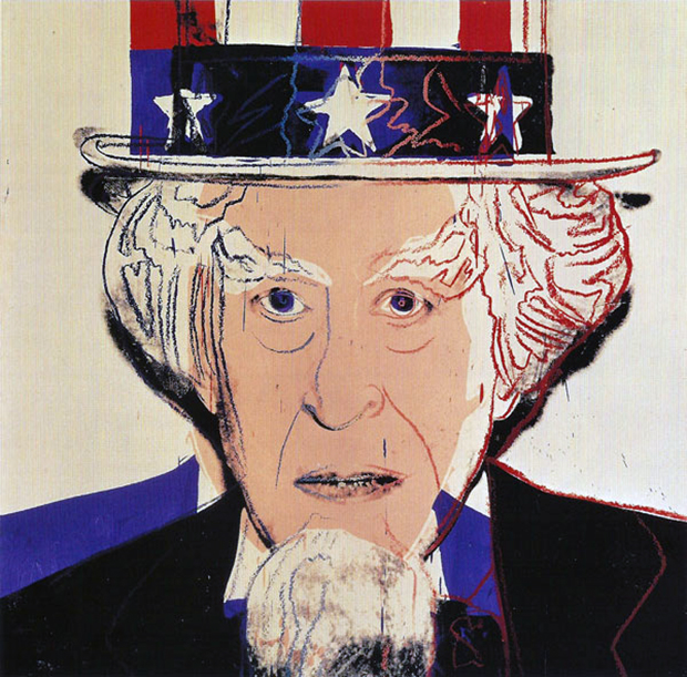 When Warhol painted Uncle Sam