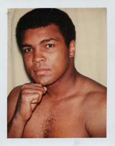 Andy Warhol, Muhammad Ali, 1977, The Andy Warhol Museum, Pittsburgh, © The Andy Warhol Foundation for the Visual Arts, Inc.