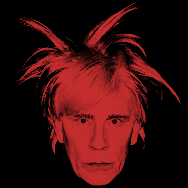 Andy Warhol / Self Portrait (Fright Wig) (1986), 2014 by Sandro Miller. From the Malkovich, Malkovich, Malkovich - Homage to photographic masters series. Courtesy of the artist and Catherine Edelman Gallery, Chicago.