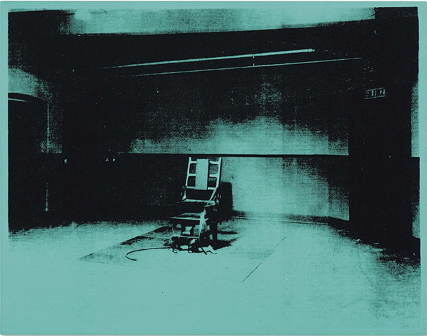 Little Electric Chair (1964) by Andy Warhol