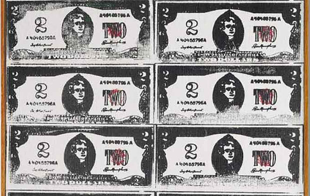 From Book to Bid – Andy Warhol's Two Dollar Bills