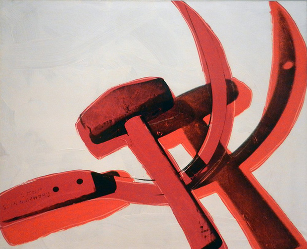 When Warhol painted the Hammer and Sickle