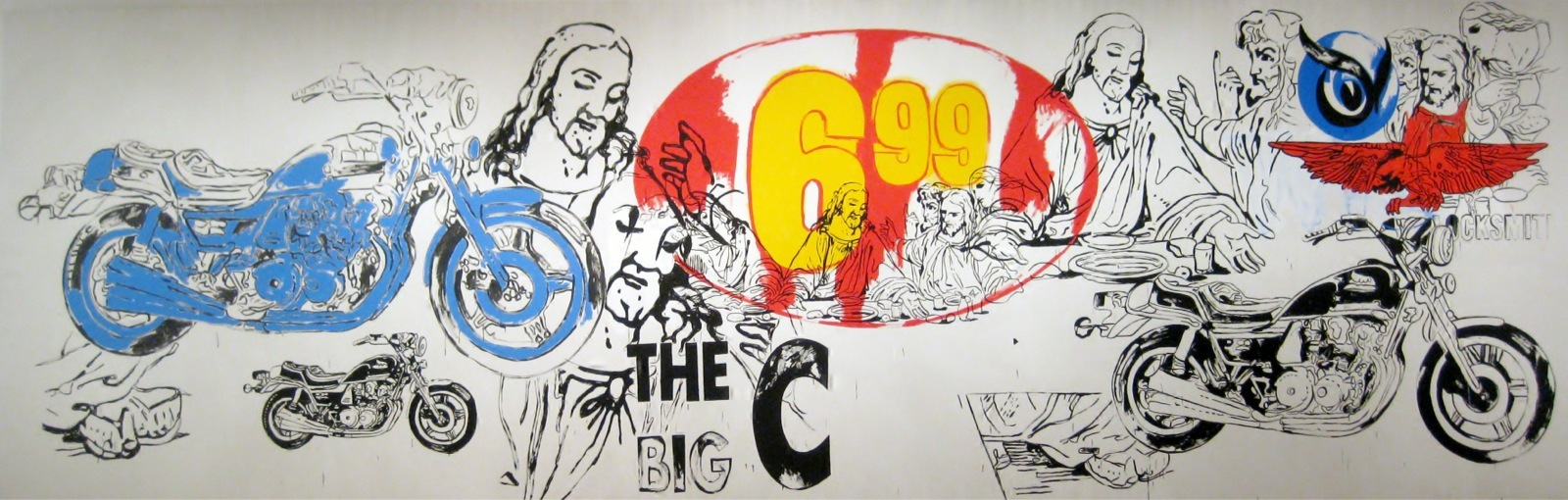 The Last Supper - The BIg C (1986) by Andy Warhol