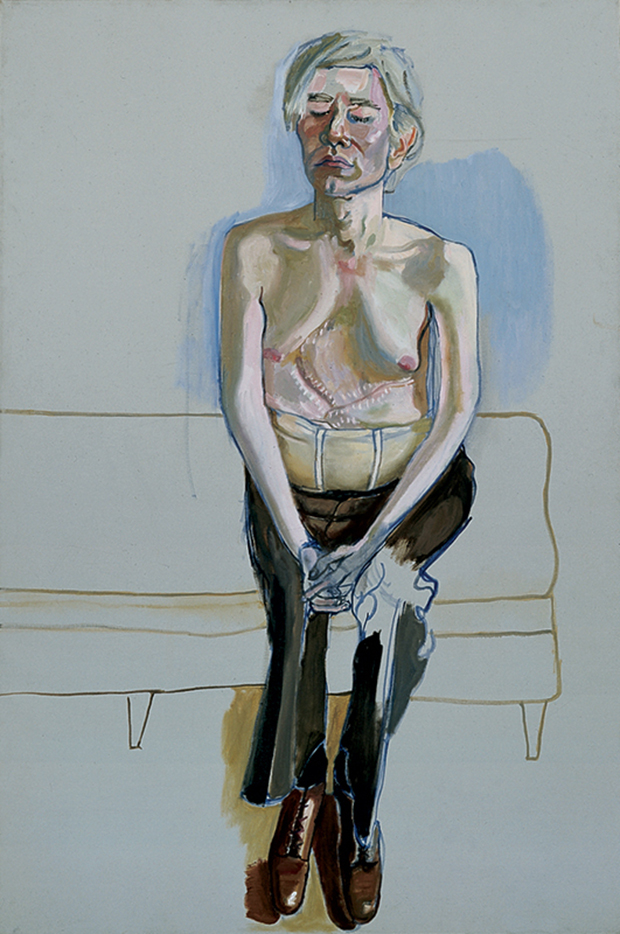 Andy Warhol (1970) by Alice Neel