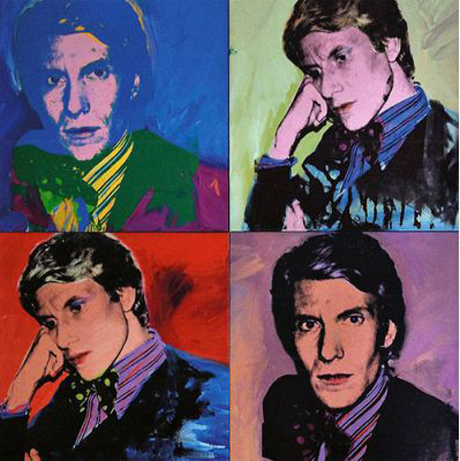 Yves Saint Laurent (1974) by Andy Warhol